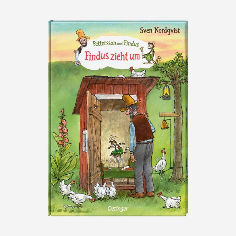 buch oetinger sven nordqvist pettersson und findus zieht um 978-3-7891-7909-9