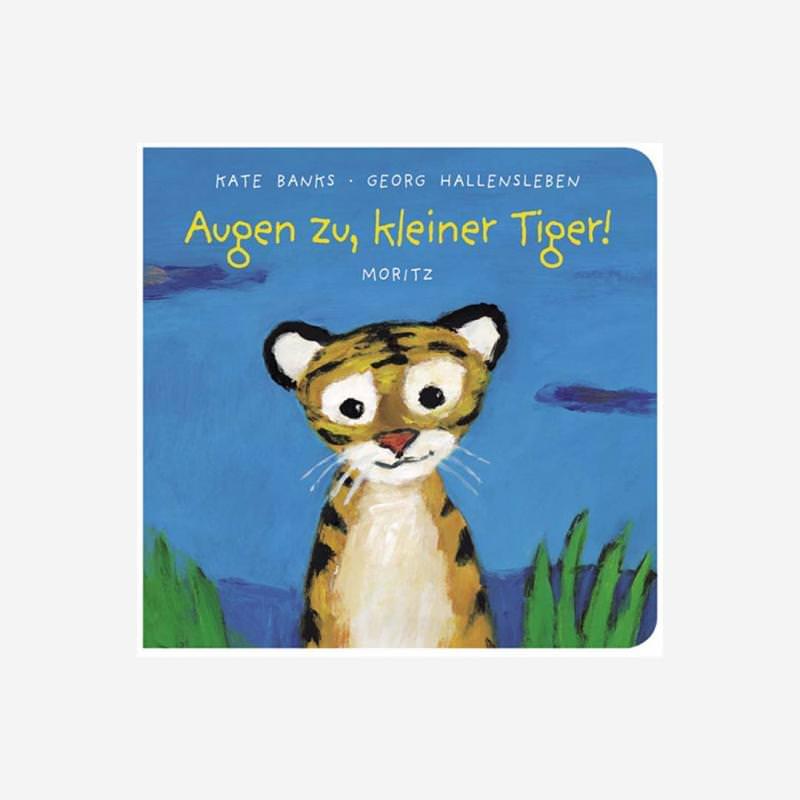 Pappbuch Augen zu kleiner Tiger