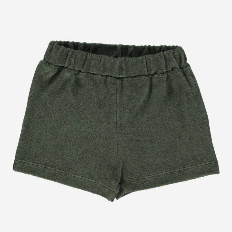 Frottee Shorts OILLET forest green