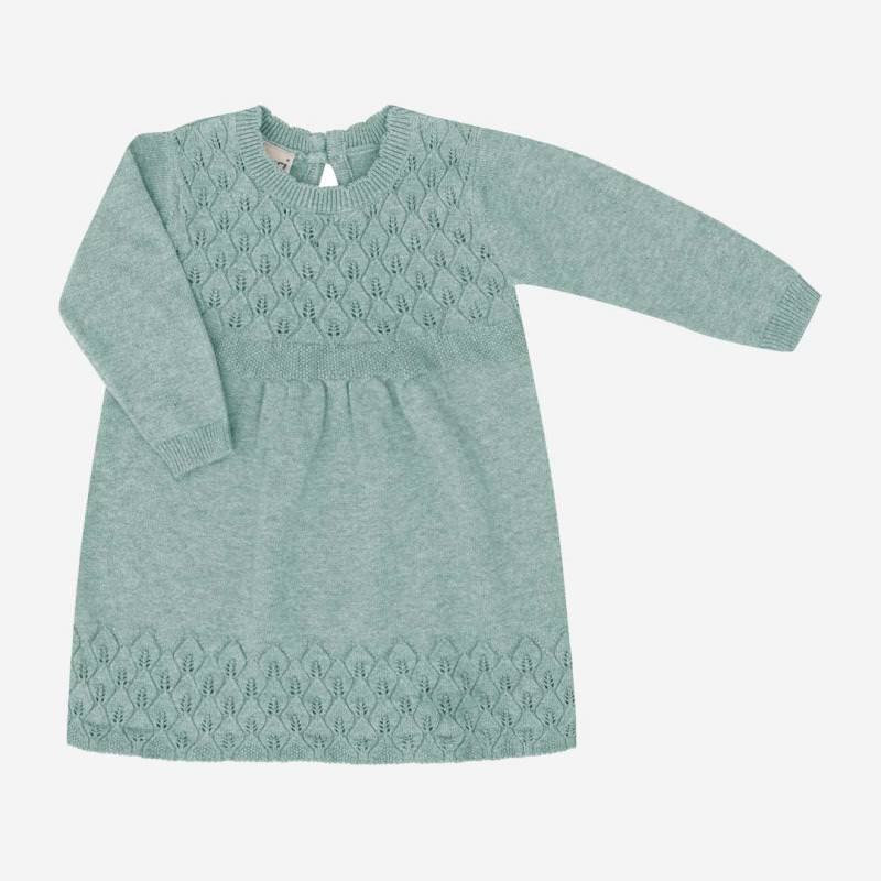 Babykleid Baumwolle/Seide seagreen