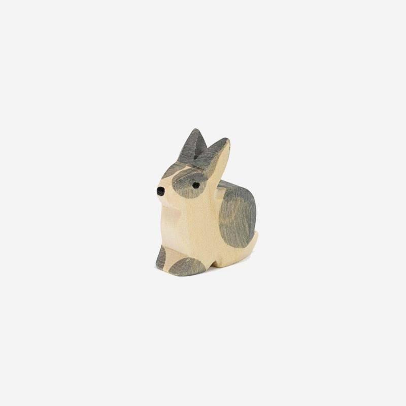 Kaninchen sitzend