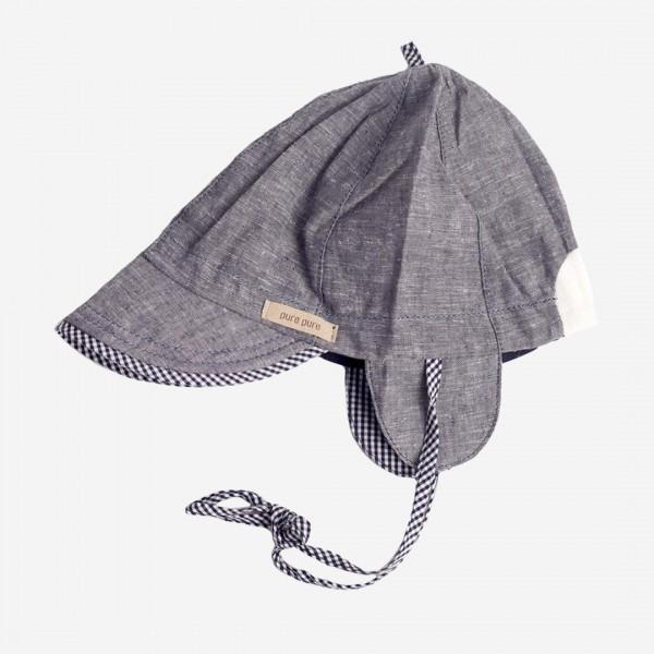 Baby Schirmmütze blau