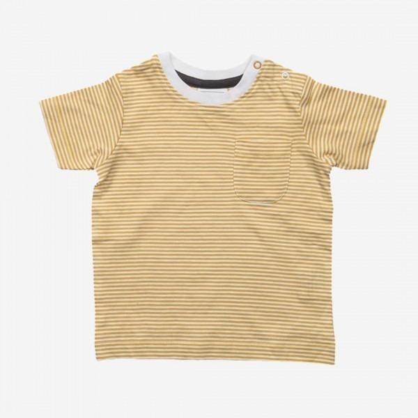 T-Shirt Streifen gelb