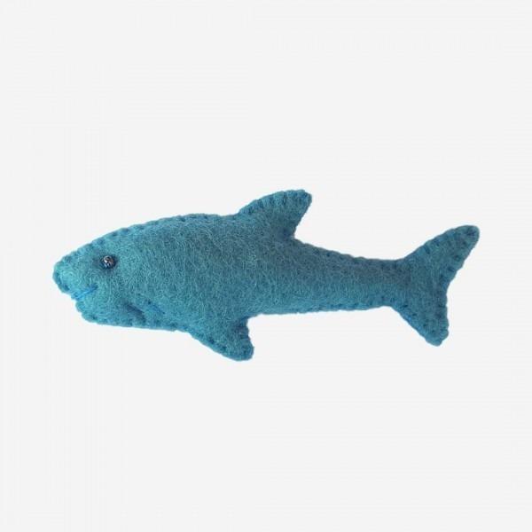 Kleine Filz Freunde Haifisch
