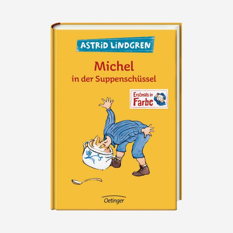 buch oetinger astrid lindgren michel in der suppenschüssel 978-3-7891-1925-5