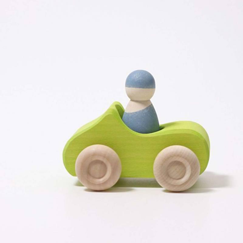 Kleines Cabrio grün
