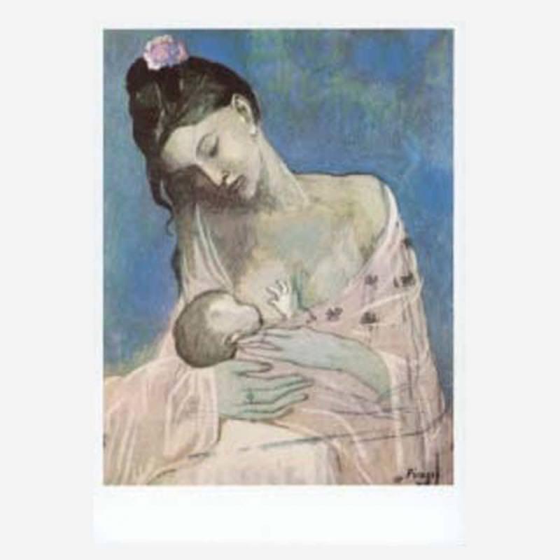 Mutter und Kind (P. Picasso)
