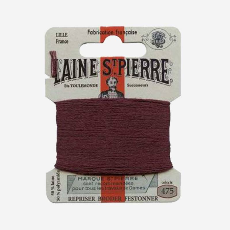 Stopfgarn von Laine Saint-Pierre in burgunder Farbnummer 475