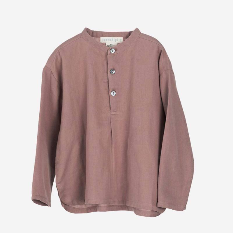 Gauze Shirt heather