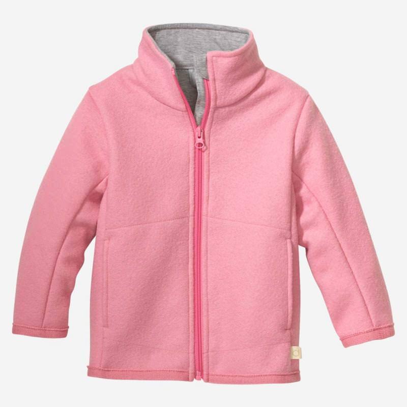 Zipper Jacke rosa