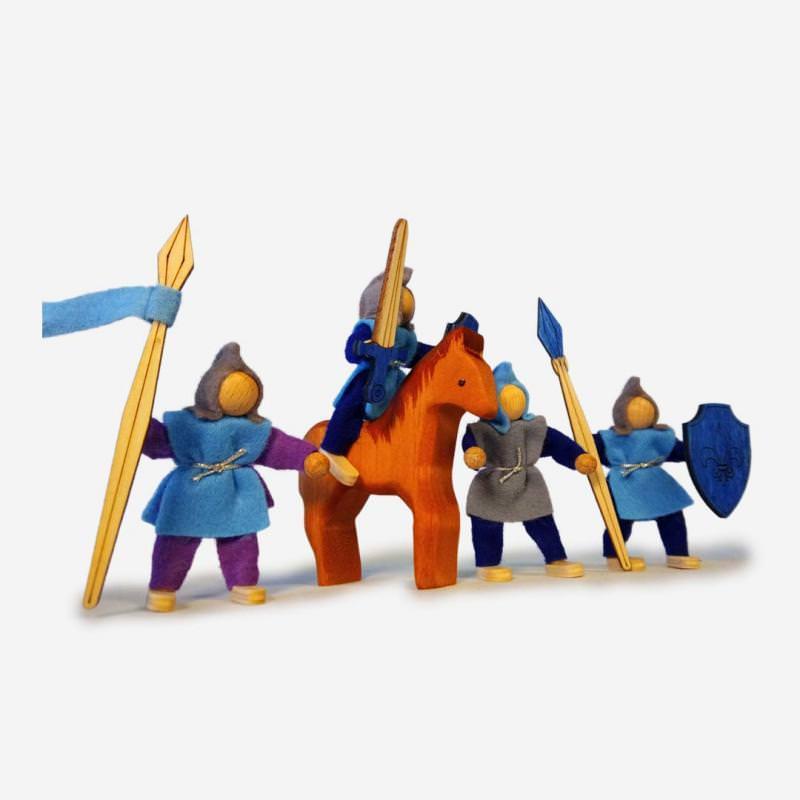 Ritterset mit Pferd