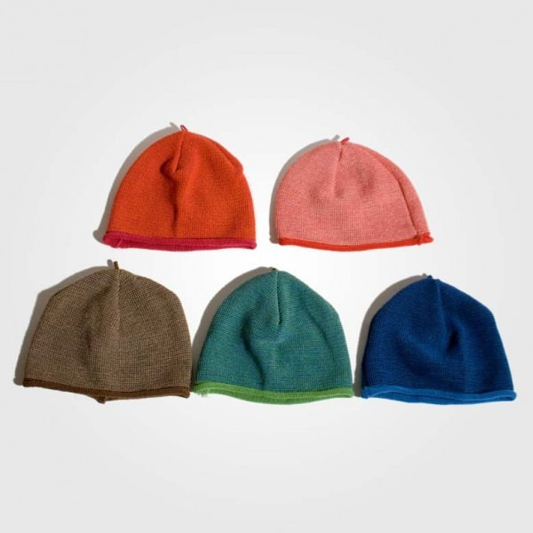 Melange-Mütze Wolle