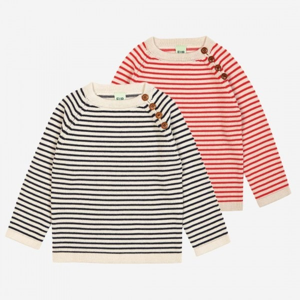 Pullover striped Wolle