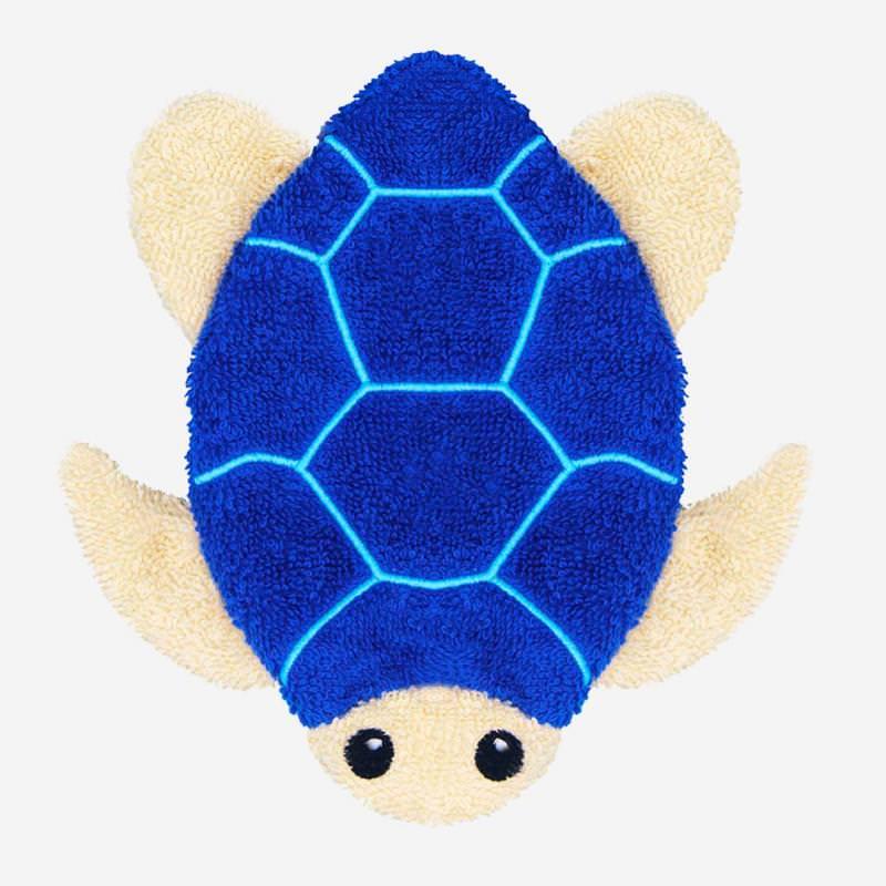 Waschhandschuh Meeresschidkröte