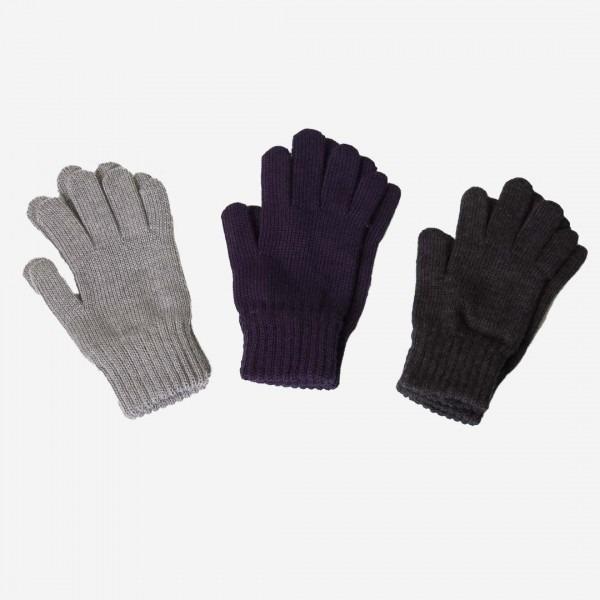 Finger Handschuhe Merinowolle