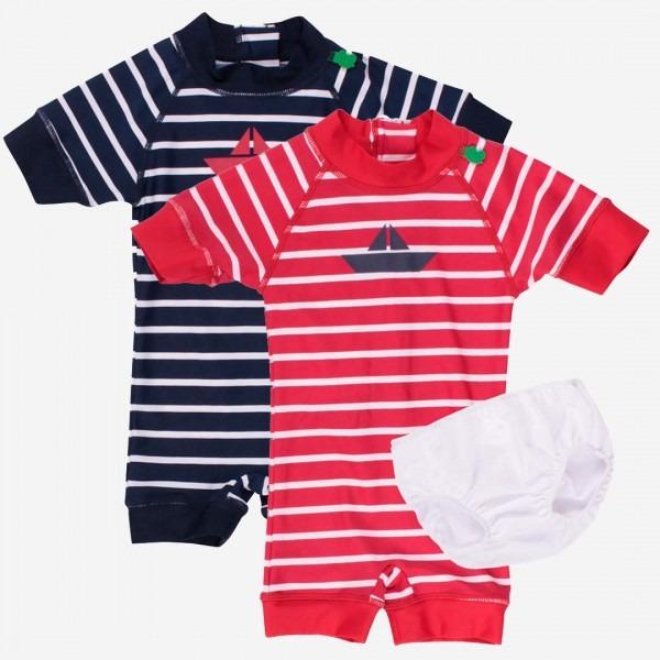 Baby Badeanzug Ringel