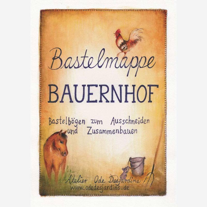 Bastelmappe Bauernhof