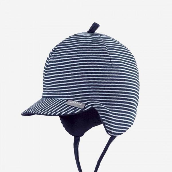Baby Schirmmütze Ringel