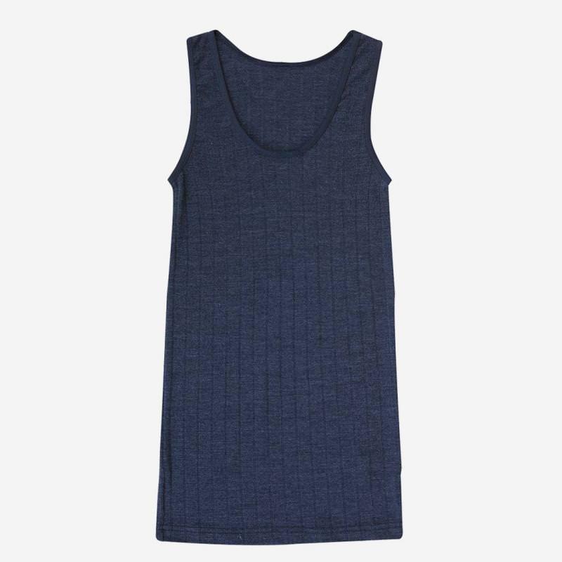 Damen Achselhemd Wolle/Seide