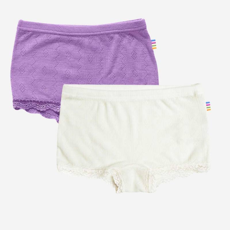 Spitzen Unterhose Wolle/Seide
