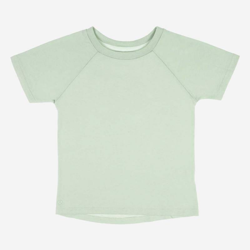T-Shirt Baumwolle aqua grey