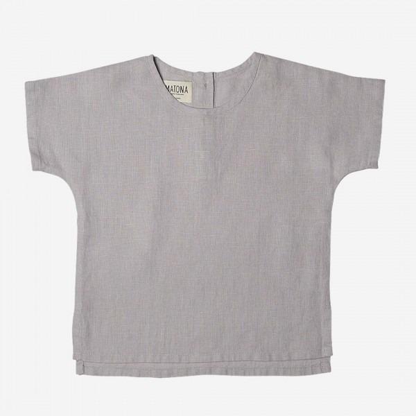 Arlo Shirt Leinen fog