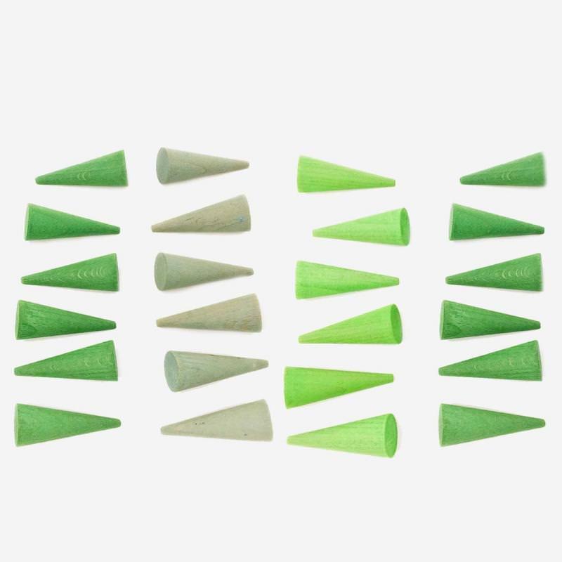 Mandala Kegel grün