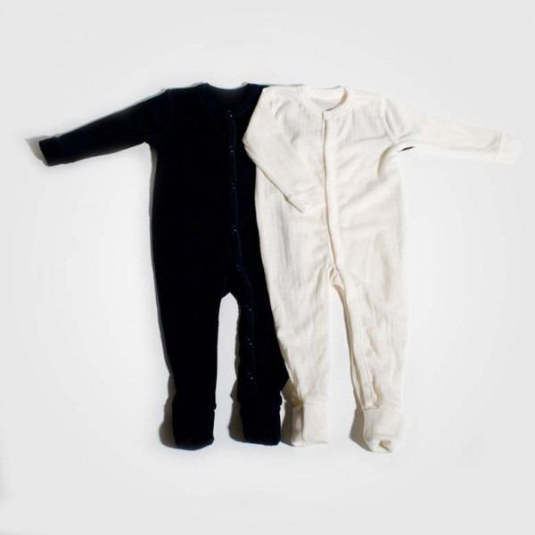 Schlafanzug Wolle