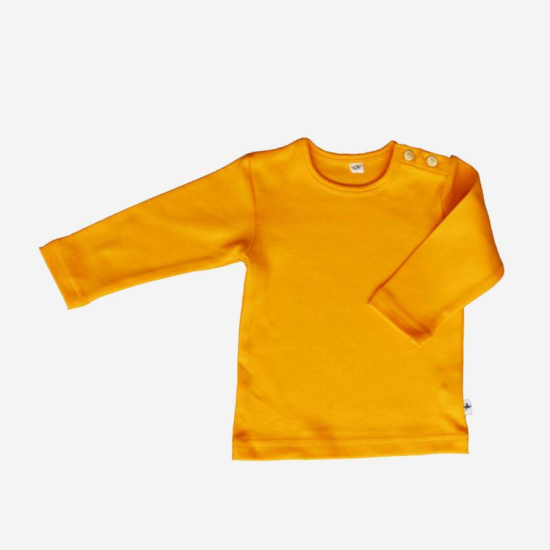 Shirt Baumwolle sonnengelb
