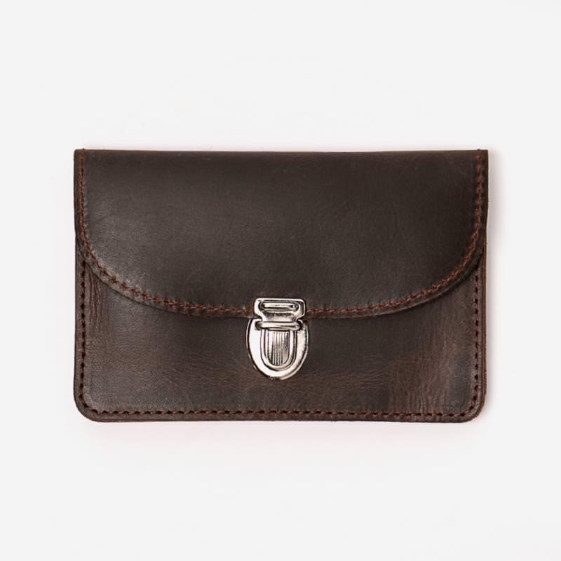 Portemonnaie Borsa braun klein