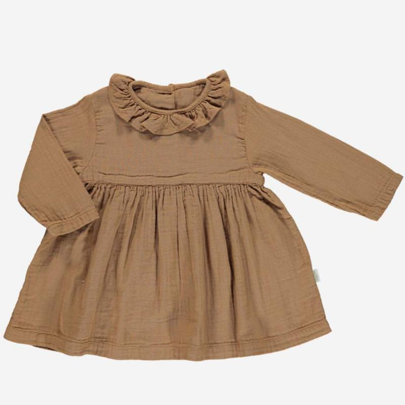 Kleid CAMPANULE brown sugar