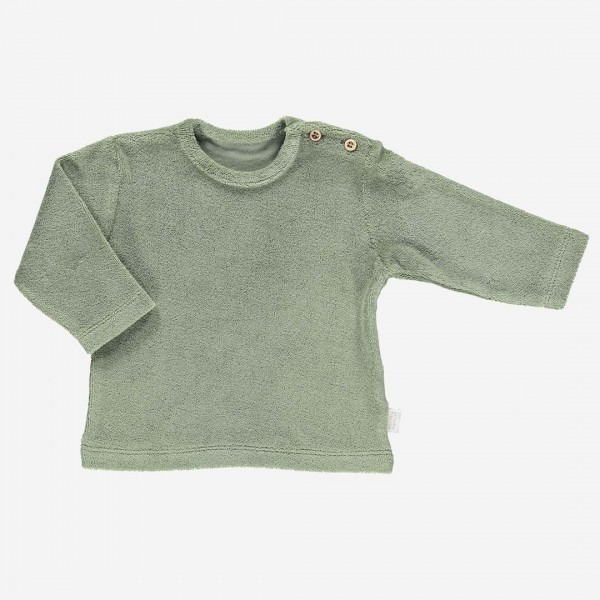 Frottee Shirt ESTRAGON oil green