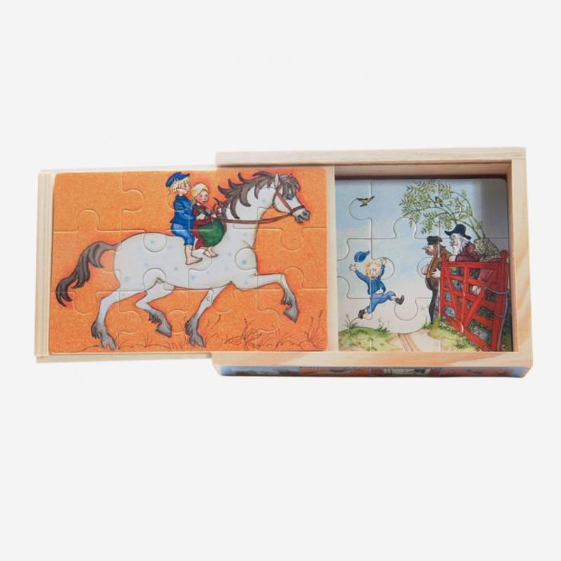 Michel Puzzle emil lönneberga astrid lindgren puzzle holz box