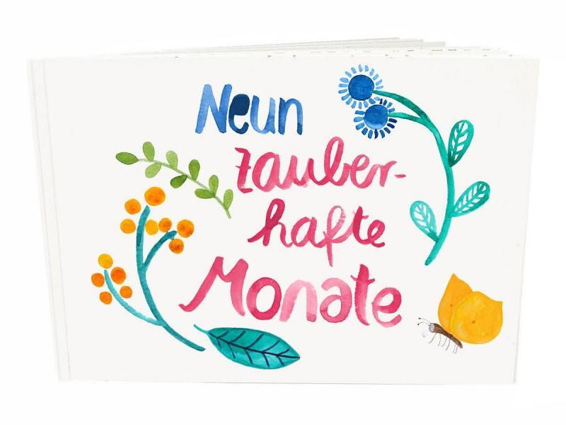 """Schwangerschaftsbuch """"Neun Monate"""""""