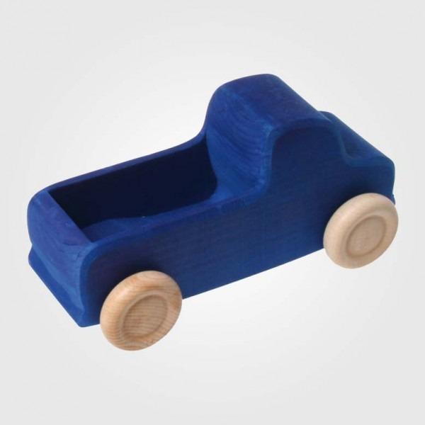 Großer Lastwagen blau