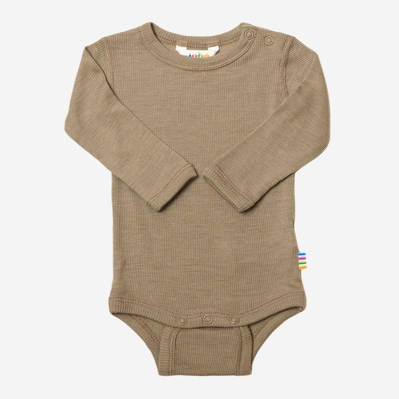 Baby Body von Joha aus Wolle/Seide in beige