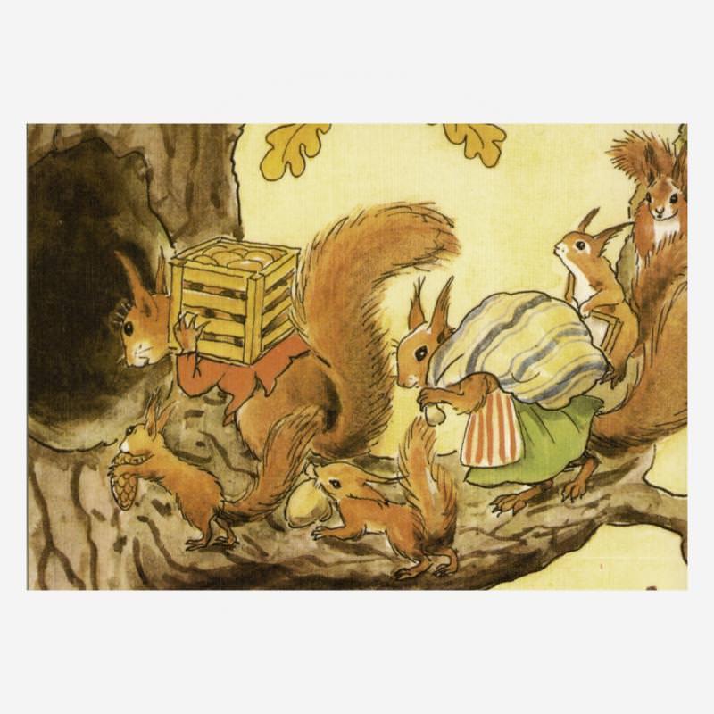Eichhörnchen (E. Beskow)
