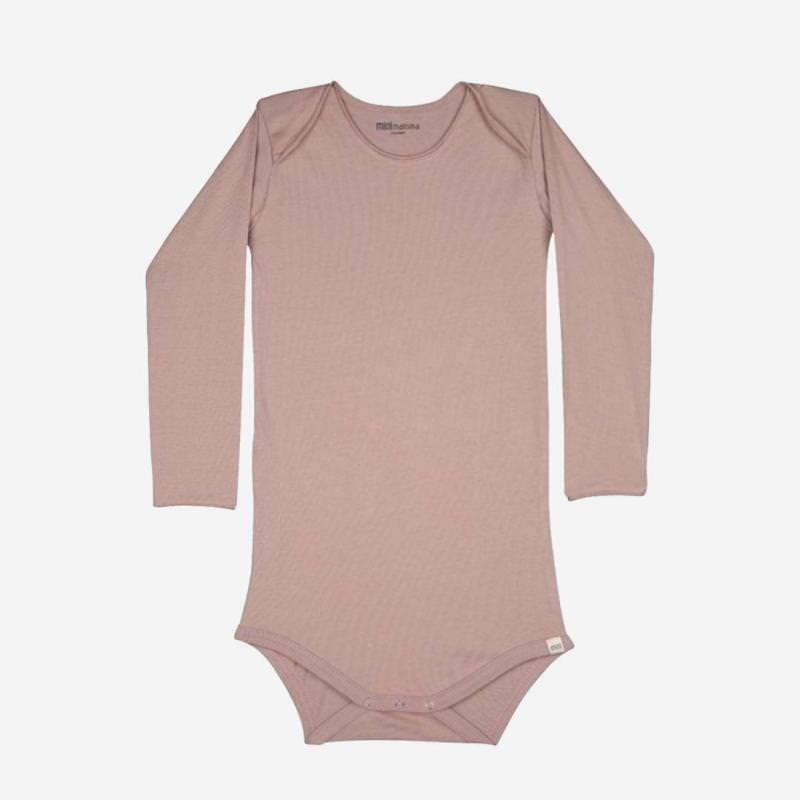 Body Bio-Baumwolle rosa Minimalisma