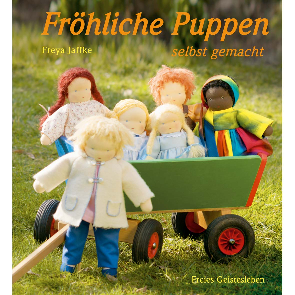 Buch Fröhliche Puppen selbst gemacht   Lila Lämmchen Onlineshop