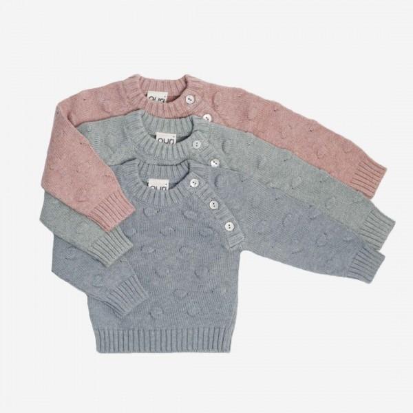Pullover Bubble Baumwolle/Seide