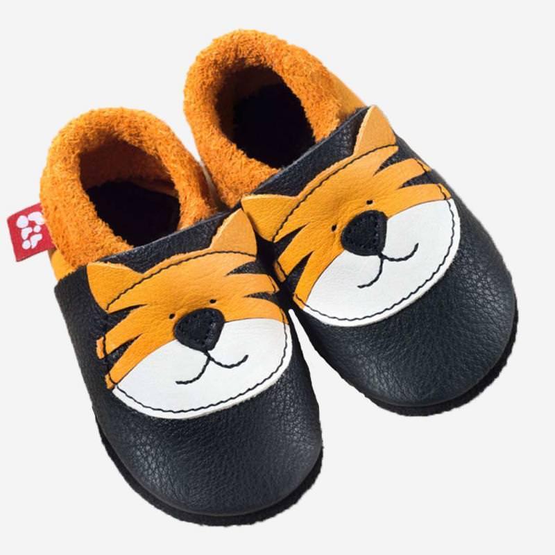Baby Leder Schühchen Tiger Tom