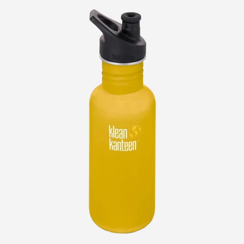 Trinkflasche Sport Cap 532ml Lemon Curry (matt)