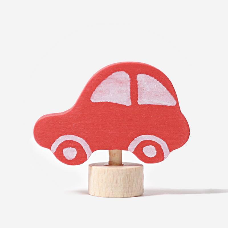 Figurenstecker Auto rot