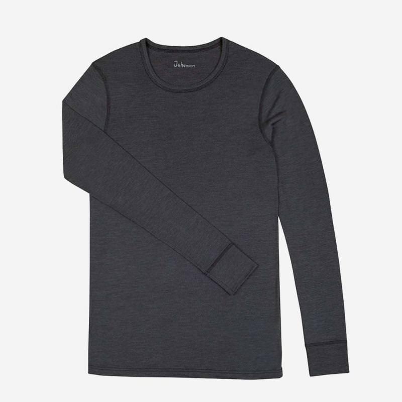 Herren Unterhemd Wolle/Seide