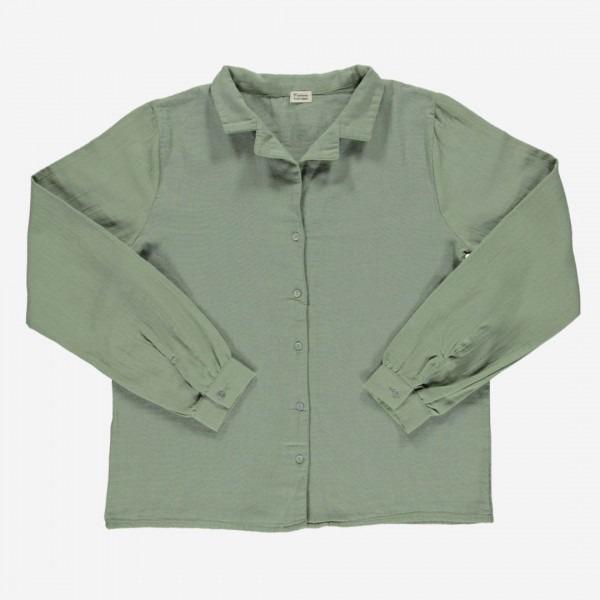 Damen Bluse DATTE oil green