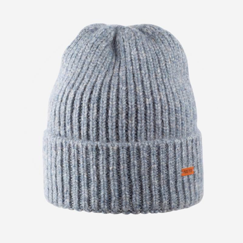 Mütze von Pure Pure aus Baby-Alpaka/Merino-/Baumwolle in blue