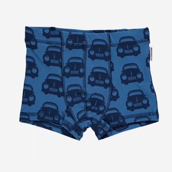Boxer Shorts Autos blau