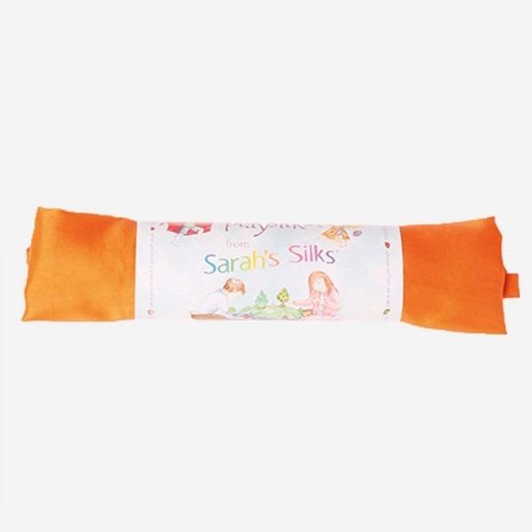 Spiel Seide orange