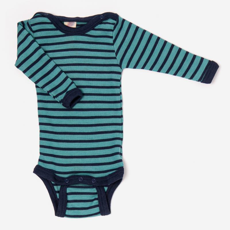 Baby Body Wolle/Seide von Engel in eisvogel/marine