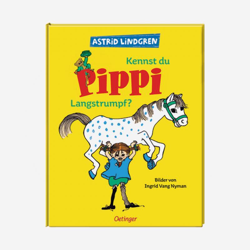 Buch oetinger Verlag Astrid Lindgren Kennst du Pippi Langstrumpf?